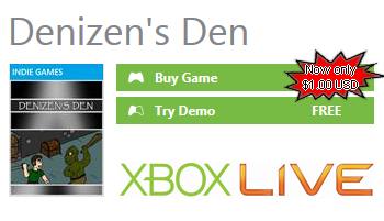 Denizen''s Den for XBOX 360