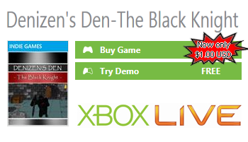 Denizen''s Den - The Black Knight for XBOX 360
